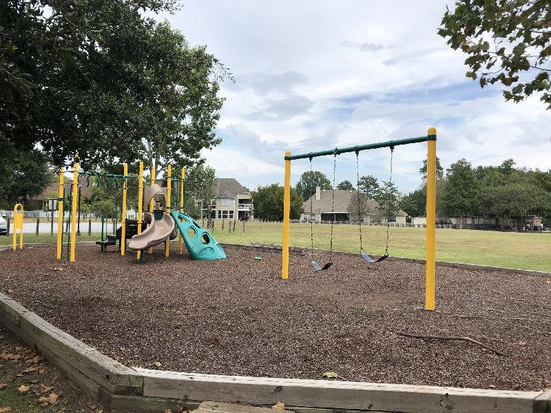 Playset near Clubhouse